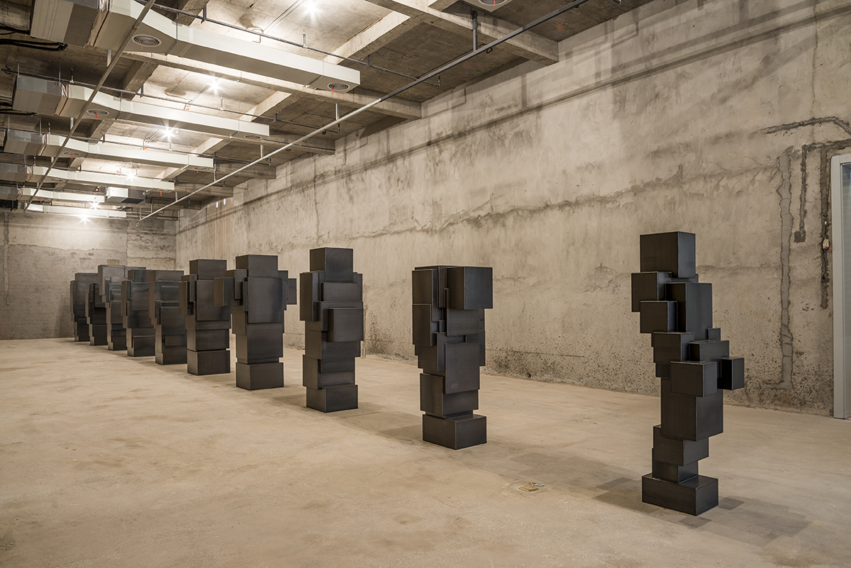 Antony Gormley - Critical Mass and Tankers