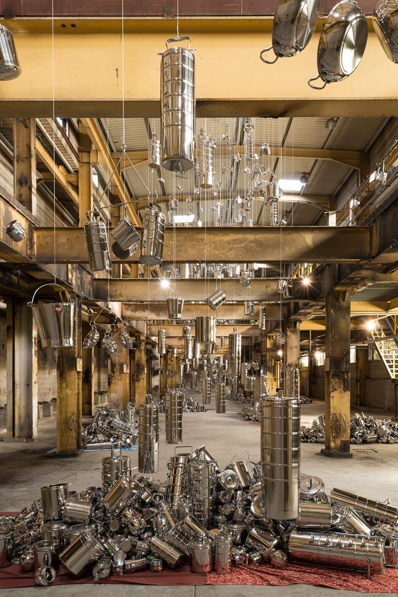 Subodh Gupta Contemporary Artist Galleria Continua