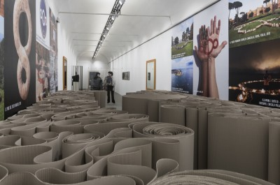 Michelangelo Pistoletto - 'One and One makes Three'