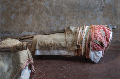 BERLINDE DE BRUYCKERE - 'A single bed, a single room'