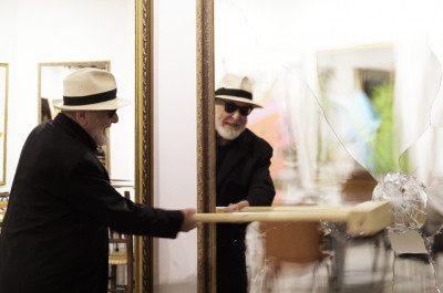 "Michelangelo Pistoletto - 'Performance ""Twenty Six Less One"": Friday October 26th 2018 at 7,30pm'"
