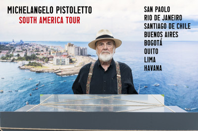 Michelangelo Pistoletto - 'SOUTH AMERICA TOUR'