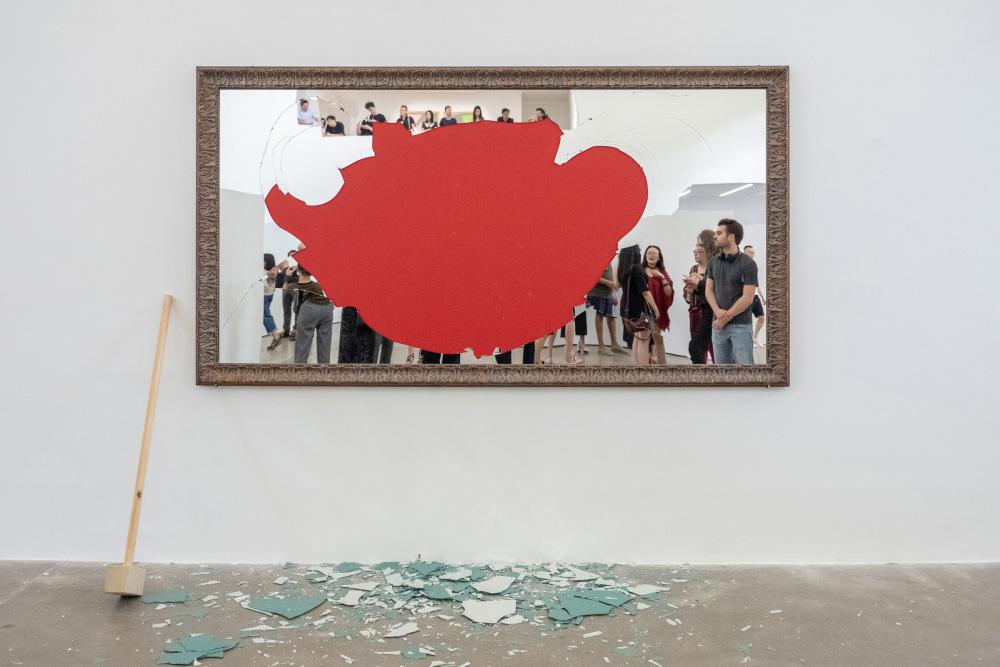 Michelangelo pistoletto galleria continua - Oltre lo specchio ...