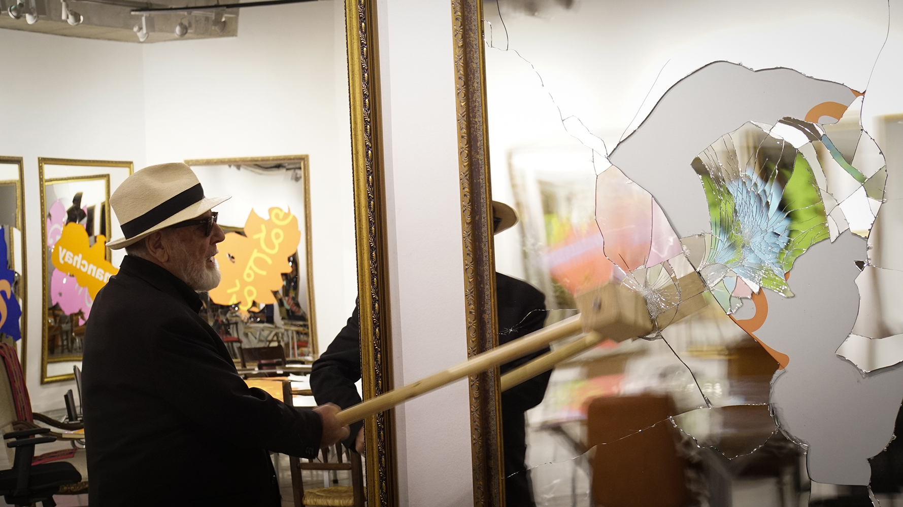"Michelangelo Pistoletto - Performance ""Twenty Six Less One"": Friday October 26th 2018 at 7,30pm"
