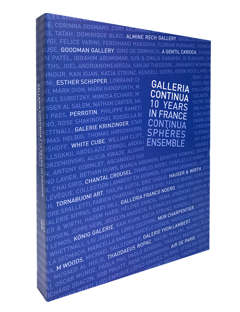 GALLERIA CONTINUA 10 YARS IN FRANCE. Continua Sphères ENSEMBLE, 2017.